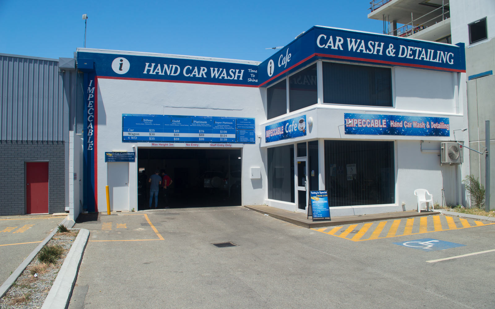 Impeccable Hand Car Wash & Detailing East Perth Store