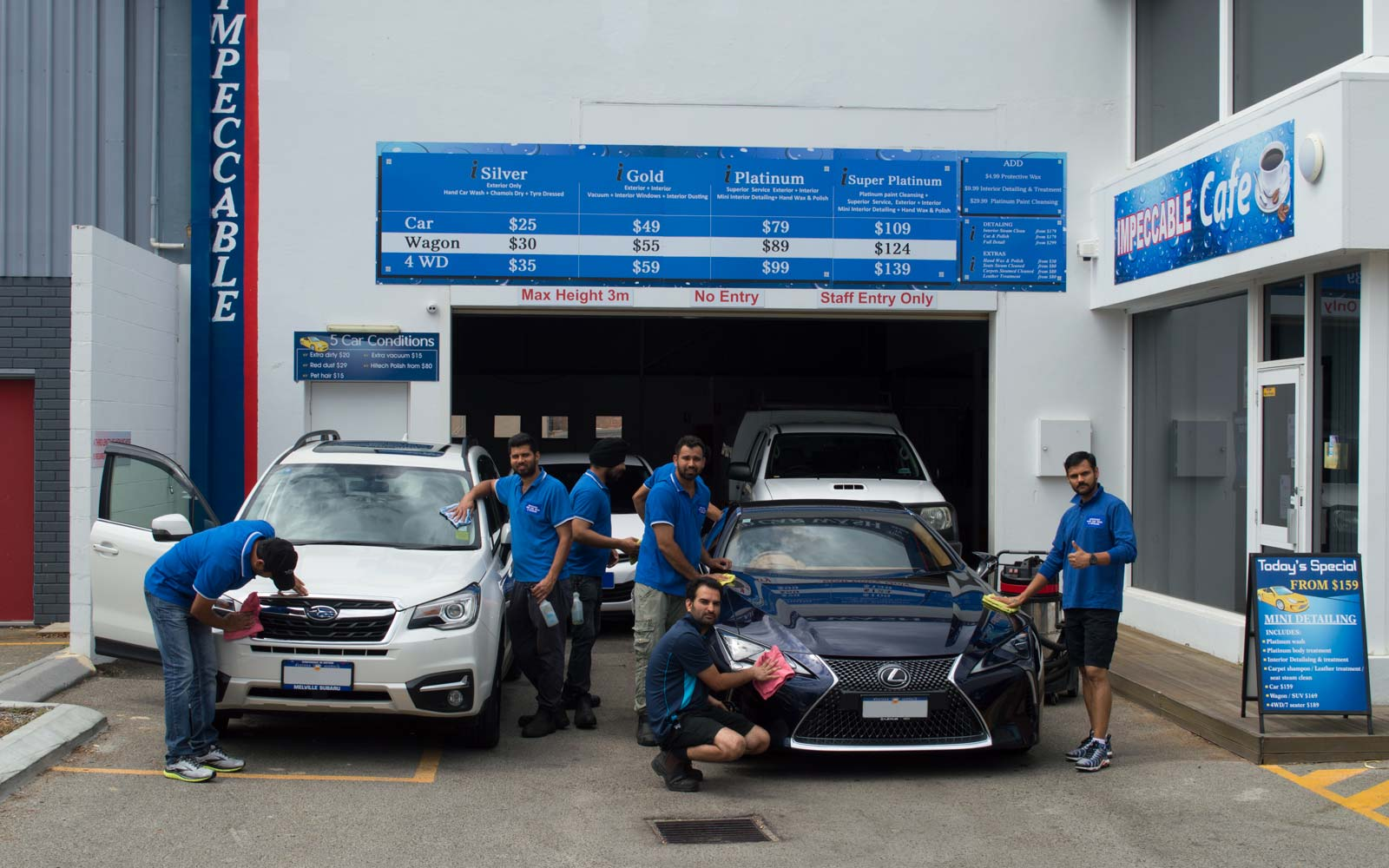 Impeccable Hand Car Wash & Detailing East Perth Team