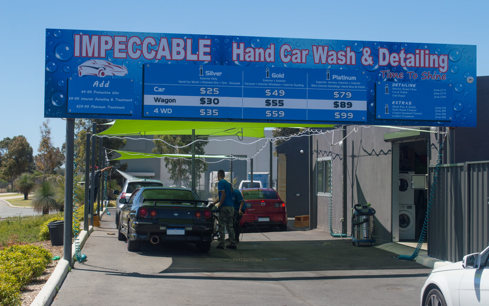 Impeccable Hand Car Wash & Detailing Rockingham Store