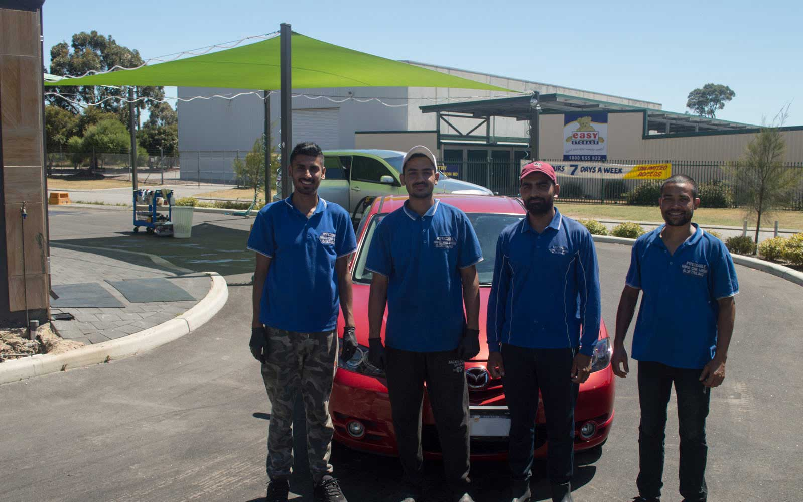 Impeccable Hand Car Wash & Detailing Rockingham Team